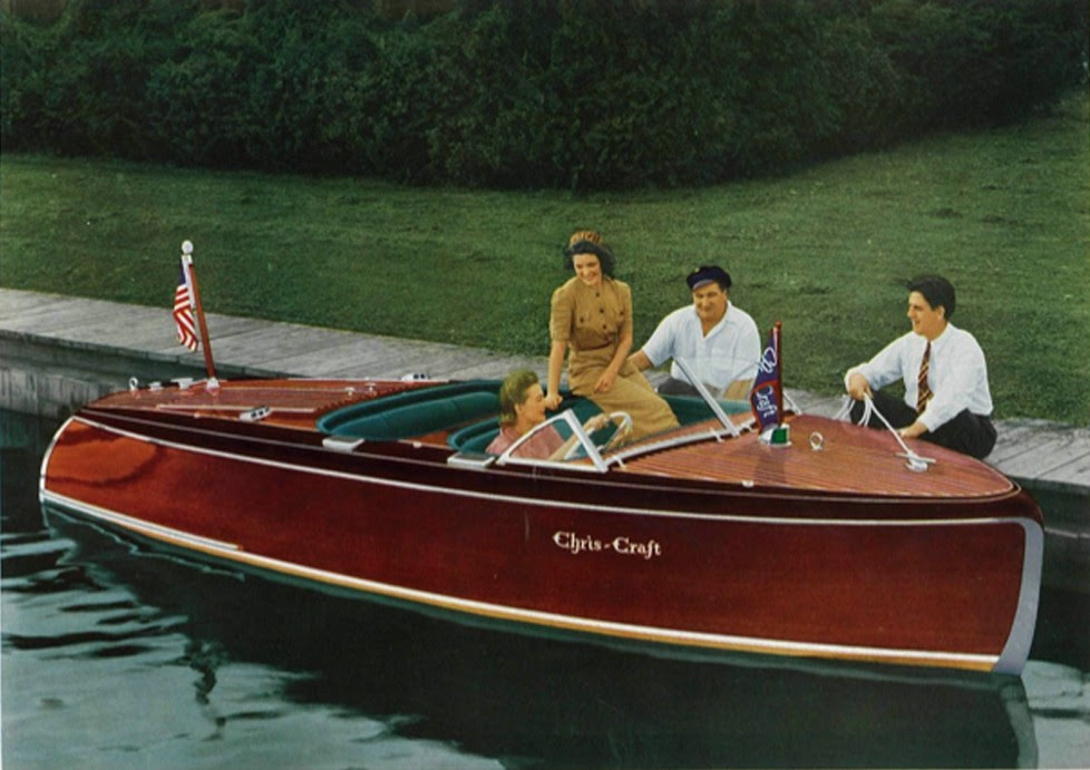 New Retro Chris-Craft - Dock Talk - Chaparral Boats Owners Club