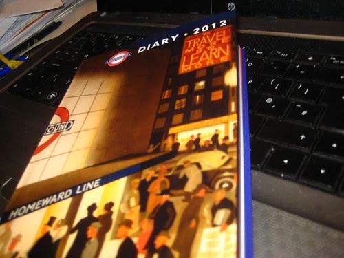 London Underground Poster Diary 2012