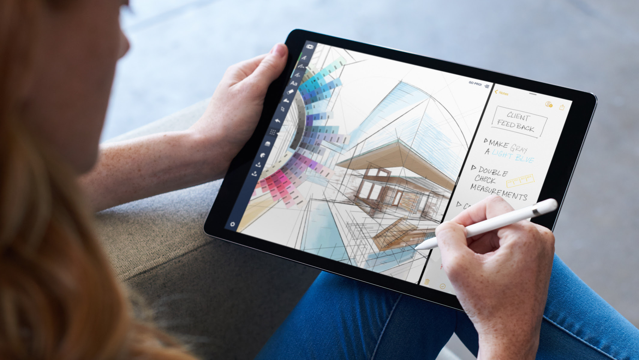 Multitasking and the Apple Pencil