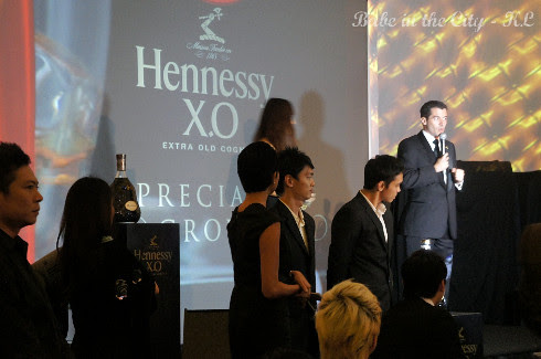 Hennessy brand ambassador Arnaud Mirey