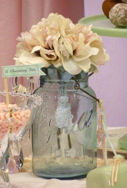 Vintage Shabby Chic Bridalwedding Shower Party Ideas 2164198