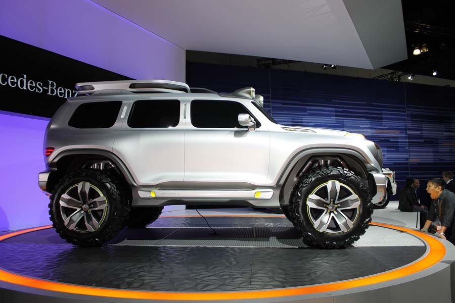 Nine Amazing Cars At The L A Auto Show Mercedes Benz G Class Concept Corvetteforum