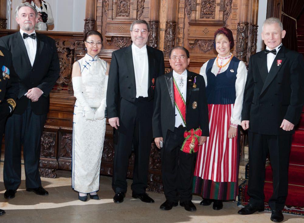 Recepția Regală a Corpului Diplomatic, la Castelul Peleș