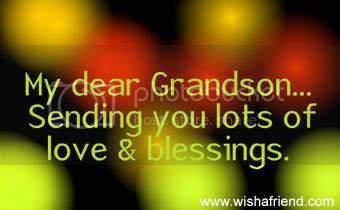 Grandchildren Facebook Graphic Sending Love To My Grandson