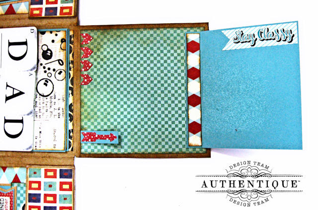 Dear Old Dad Father's Day Gift Wallet with Authentique Dapper Collection by Kathy Clement Photo 6