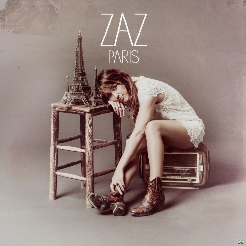 """Wyznwania muzyczne #6 - Zaz """"Paris"""" okladka płyty - Francuski prz kawie"""