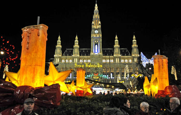 Christmas Market, Vienna (2009)