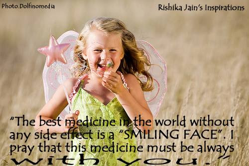 Smiling Face Is The Best Medicine Smiling Quotes Inspirational