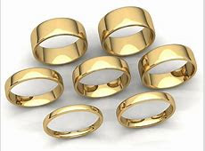 Comfort Fit EuroDome Wedding Band Ring Mens Womens 2mm 8mm Solid 10k Yellow Gold   eBay