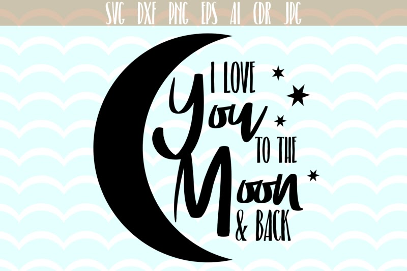 Download beer can svg free: Free I love you to the moon and back ...