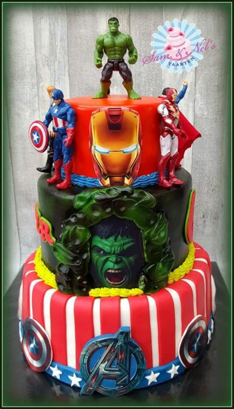 The Avengers cake   cake by Sam & Nel's Taarten   CakesDecor