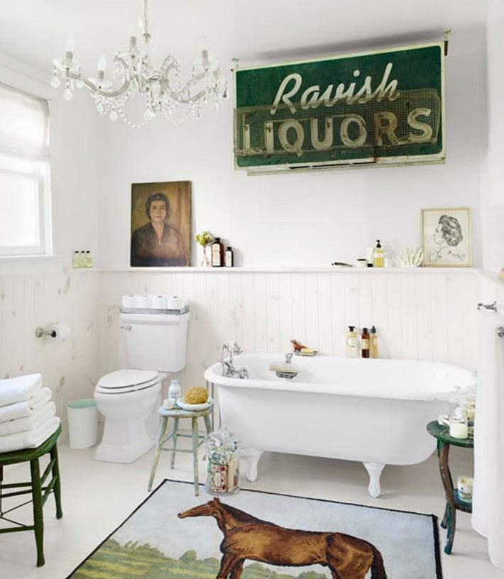 Vintage Decor to remodel your luxury bathroom | Maison ...