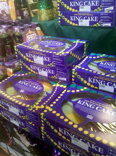 King Cakes at Whole Foods