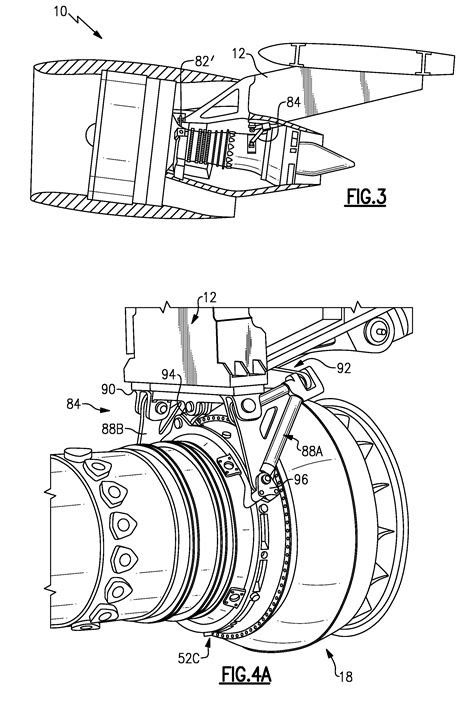 Patent US8128021 - Engine mount system for a turbofan gas
