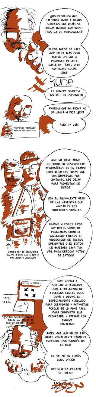 kune 73x300 Redes sociales y Software Libre