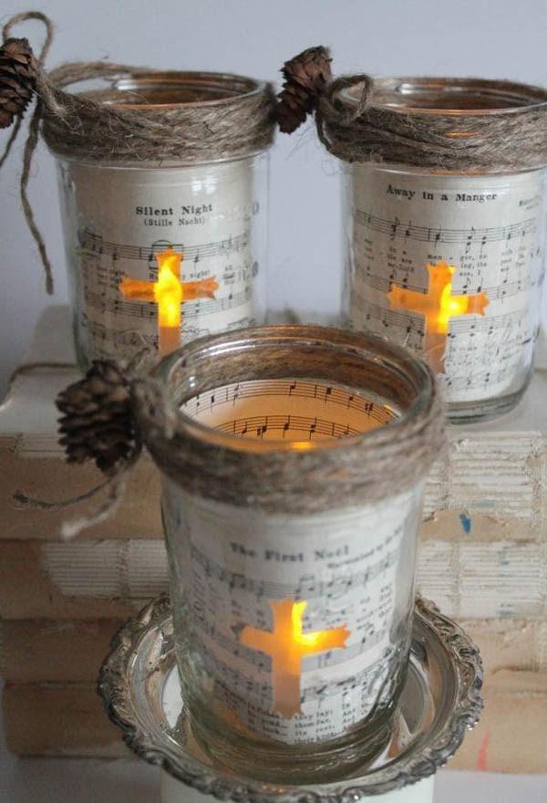 Christmas Decorating with Mason Jars – Christmas Celebration