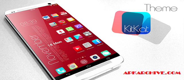 KitKat HD Launcher Theme 7 in1 Apk