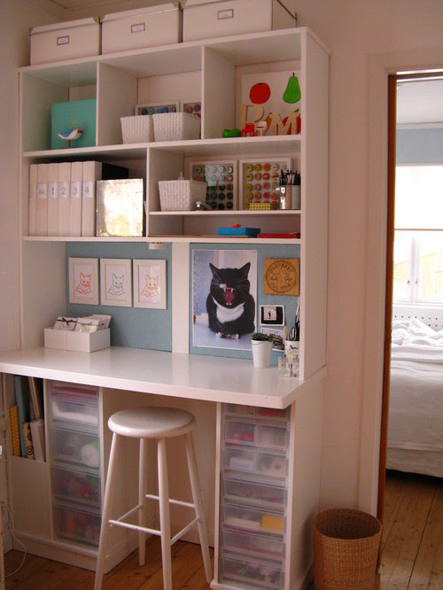 Frugal with a Flourish: Great Craft Workspaces!