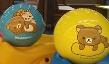 ボウリングリラックマのボールが使えます スポーツビレッジスミノエ