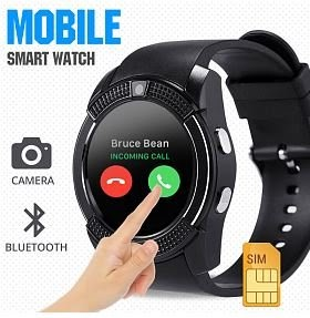 V8 Bluetooth Smart Wrist Watch