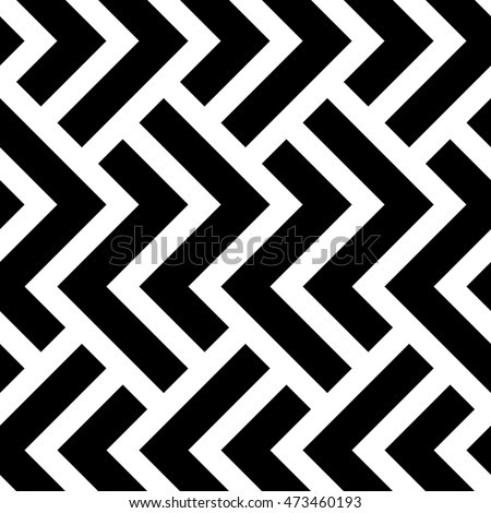 Vector Illustration In Rank M Rank The Geometric Pattern By Stripes