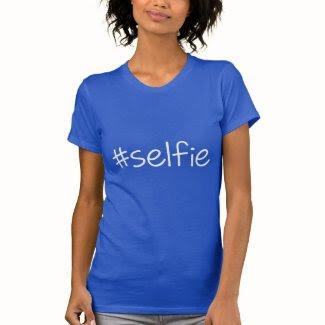 Hashtag Selfie Tshirts