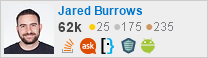 profile for Jared Burrows on Stack Exchange, a network of free, community-driven Q&A sites