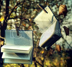 Libros colgados