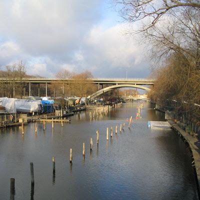 A bridge to the north