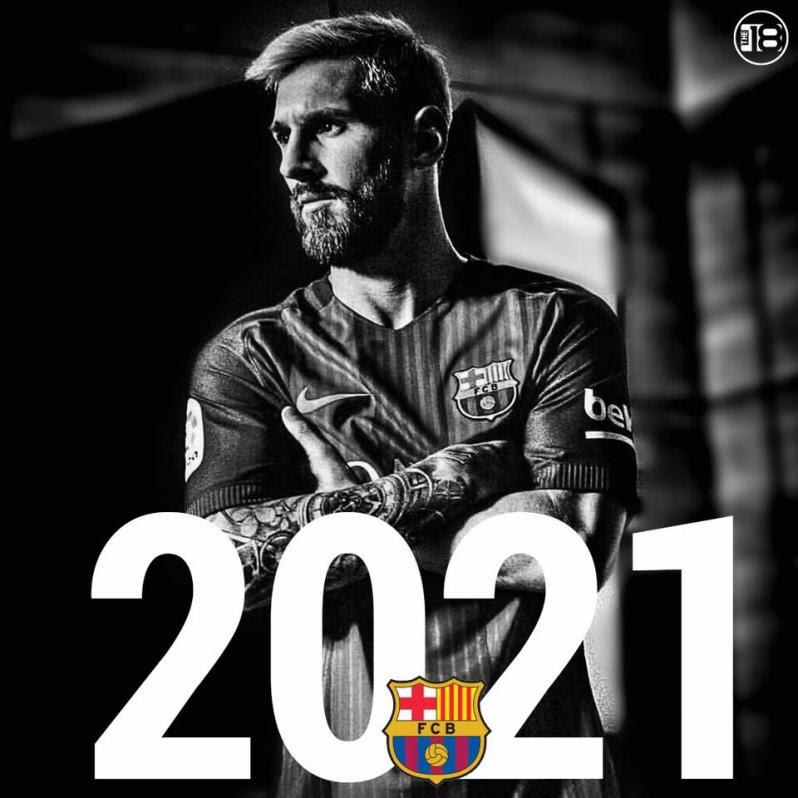 Lionel Messi Renews Barcelona Contract Until 2021