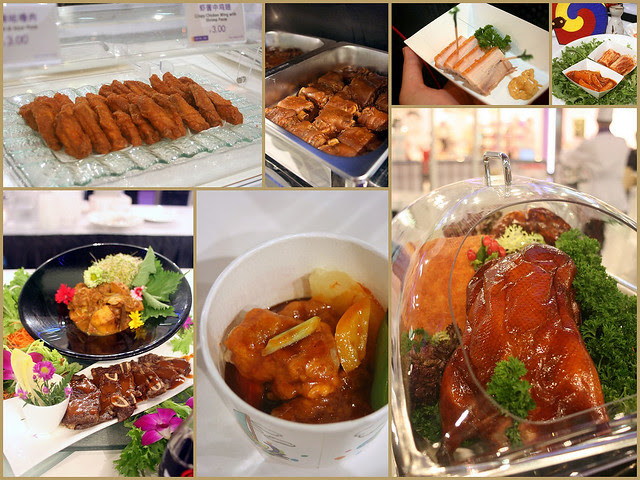 Sample signature dishes from different Crystal Jade outlets