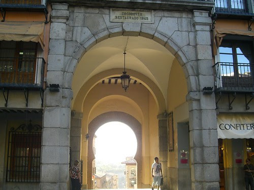Arco de la Sangre, Toledo (España) en 2008