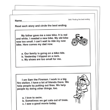 Making Inferences Grade 1 Collection Printable Leveled Learning