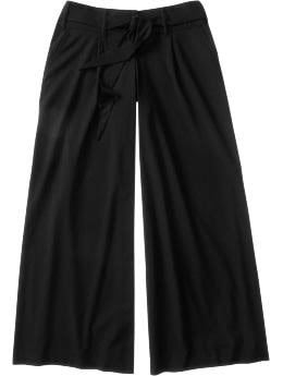 Old Navy Women's Wide-Leg Belted Trousers
