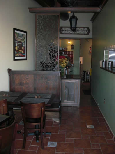 Dining Area at Gustazo Cuban Café