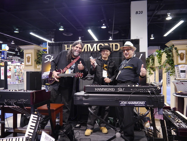 NAMM 2012 Jon Hammond Sk1 and Friends Stand 5100 Hammond Suzuki