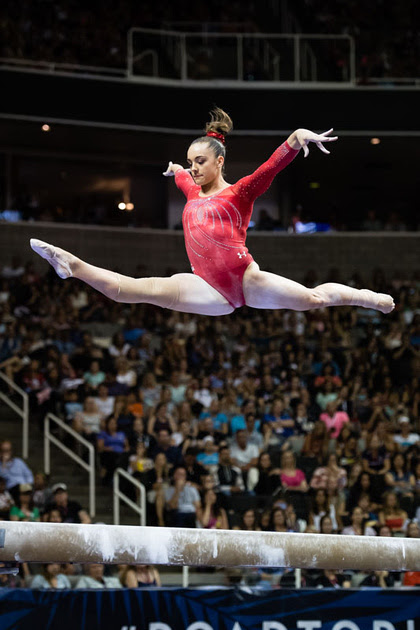 USA Gymnastics: July 10 - Competition Day 2 &emdash; Maggie Nichols