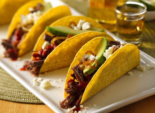 Spicy BEERbacoa Tacos