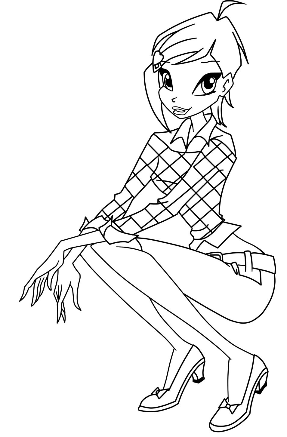 Winx Club Coloring Pages 360coloringpages
