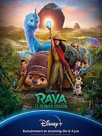 affiche sortie dvd raya et le dernier dragon