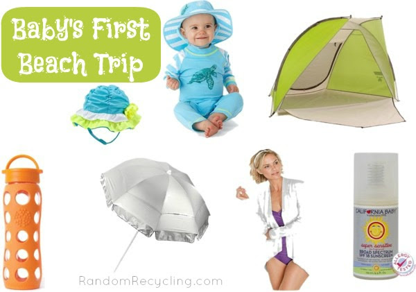 Tips for bringing baby to the beach