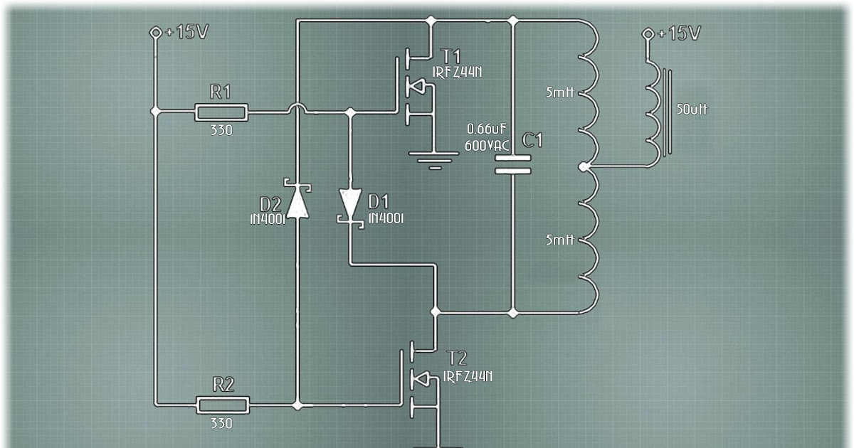 12v Induction Heater Circuit Diagram