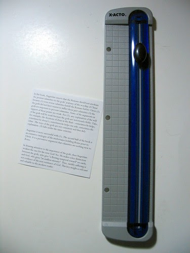 X-Acto Personal Paper Trimmer