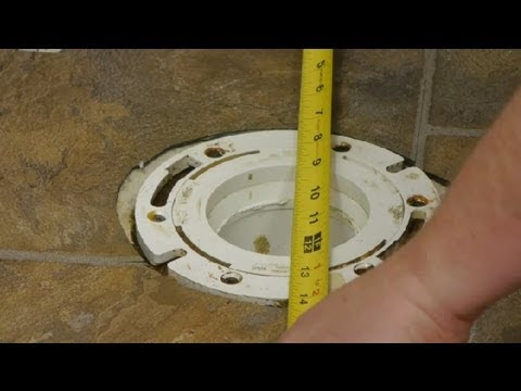 Sink water valve replacement: How to install toilet flange
