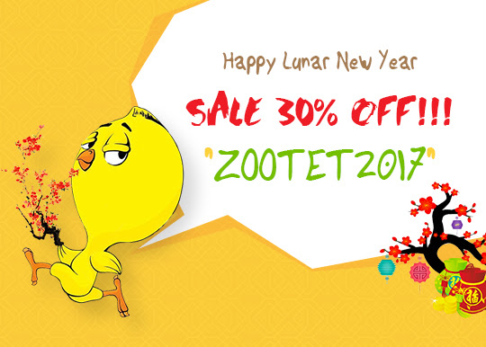 Happy Lunar New Year 2017 Sale Off 30 Zootemplate