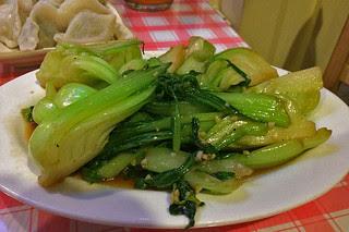 Kingdom of Dumpling - Garlic Bok Choy