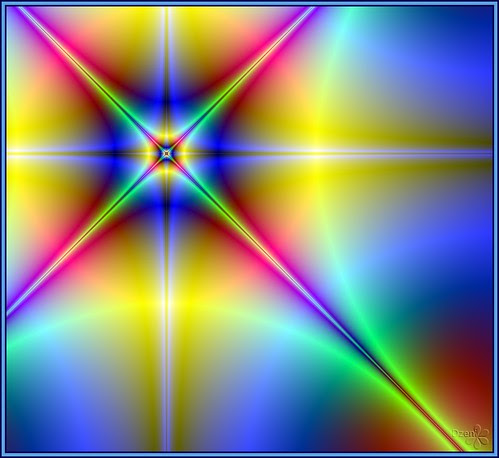Psychedelic Fractal Compass