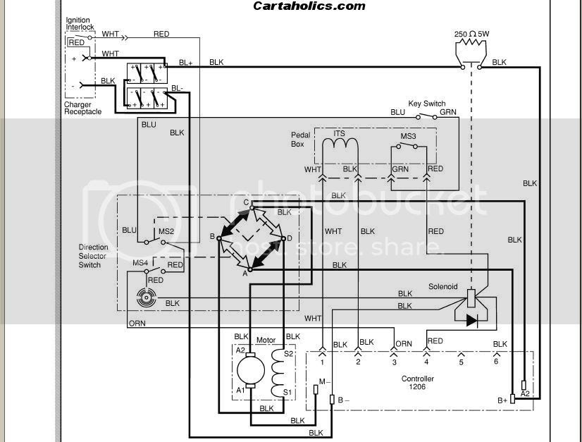 Club Car Golf Cart 36 Volt Meter Wiring Diagram