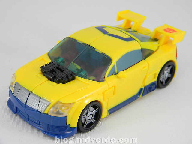 Transformers Hot Shot Deluxe - Universe - modo alterno