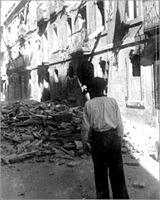 Efectes dels bombardejos a la Barceloneta